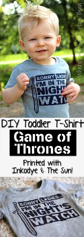 DIY Game of Thrones Shirt