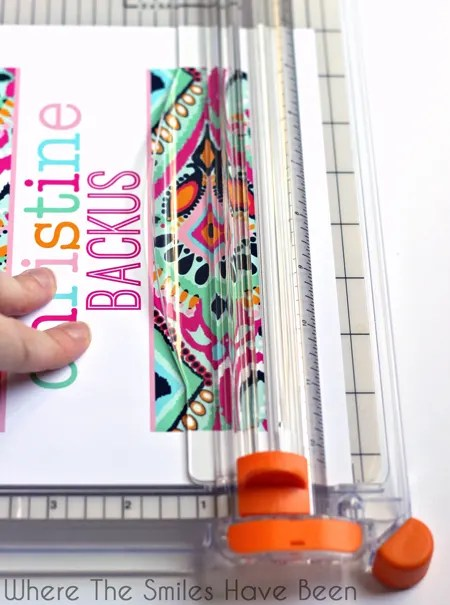 How to Make DIY Erin Condren Life Planner Interchangeable Covers! Save money and make your own! #erincondren