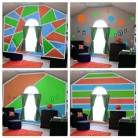 How Photoshop Can Help You Design & Paint an Accent Wall
