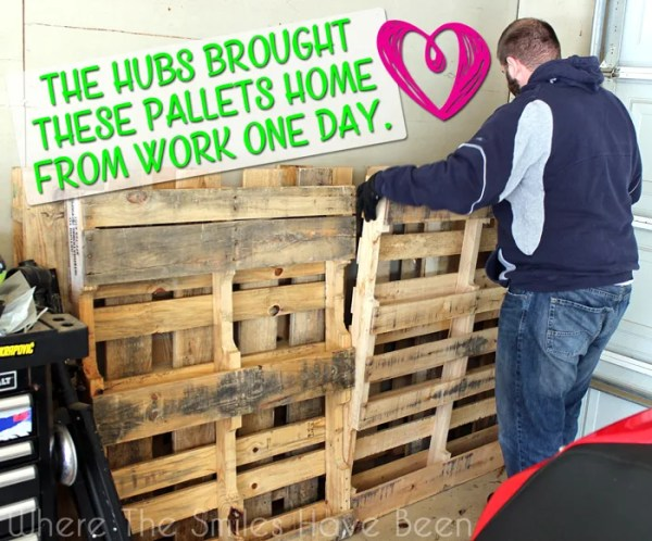 How to Make and Install Pallet Bookshelves   Where The Smiles Have Been