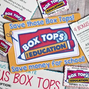 DIY Box Tops Reminder Magnets with FREE Cut File & Printable | Where The Smiles Have Been