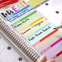 DIY Erin Condren Snap-In Meal Planner/To-Do List & FREE Printable!
