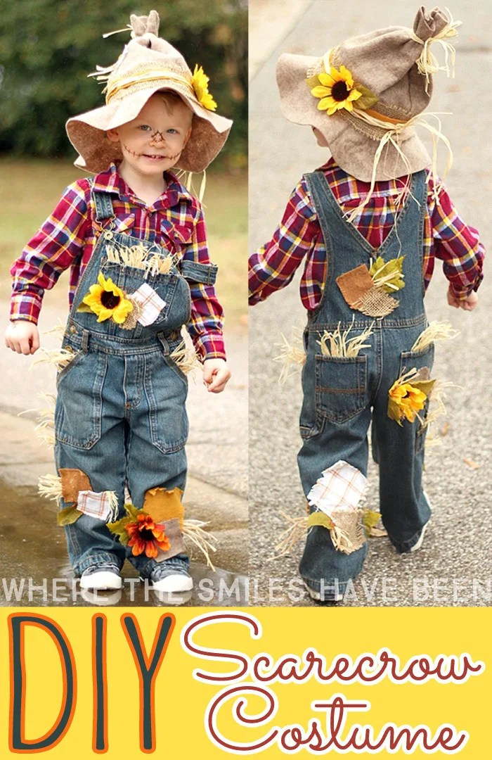 DIY Scarecrow Costume | Where The Smiles Have Been  sc 1 st  Where The Smiles Have Been & Sons of Anarchy Toddler Halloween Costume