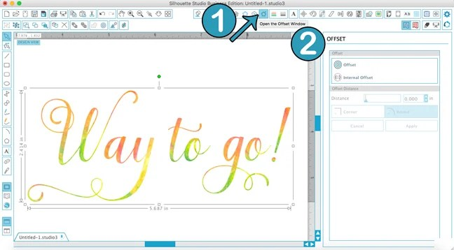 How To Use the Text Tool in Silhouette Studio   Where The Smiles Have Been