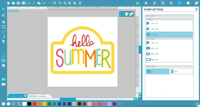 How to Use Silhouette Mint & Make a Multi-Colored Stamp | Where The Smiles Have Been
