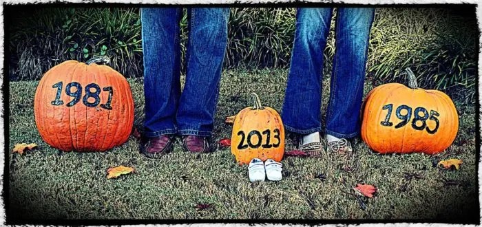 Fall Pregnancy Announcement | Where The Smiles Have Been