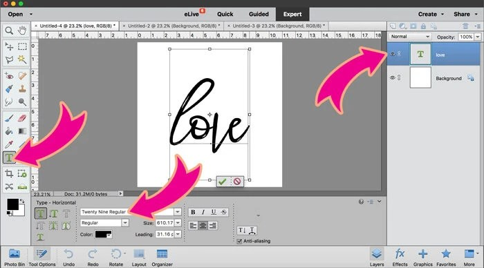How to Fill an Image or Word with a Picture in Photoshop