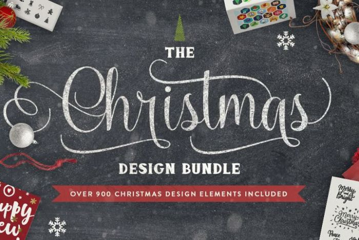 The Christmas Design Bundle from DesignBundles.net!