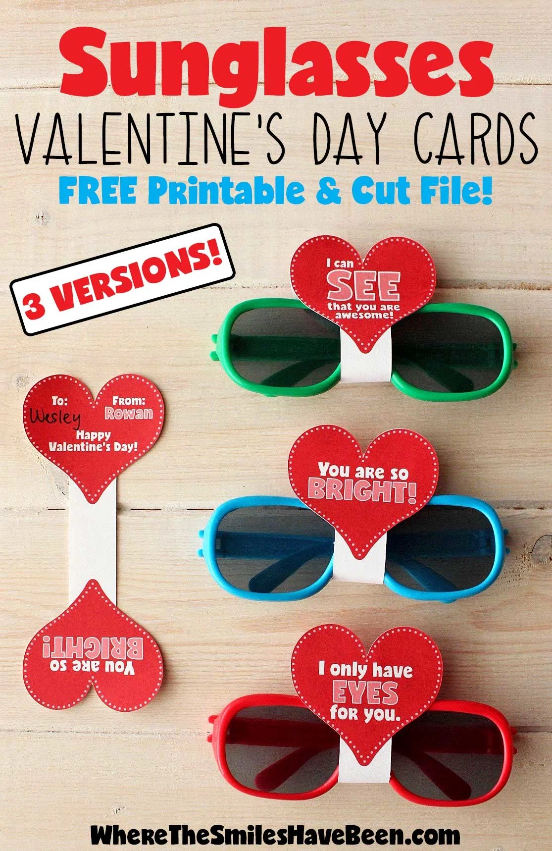 These Are So Cute And So Simple Love The Free Printable
