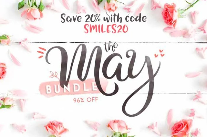 The May Bundle from The Hungry JPEG! Save 20% with code SMILES20!