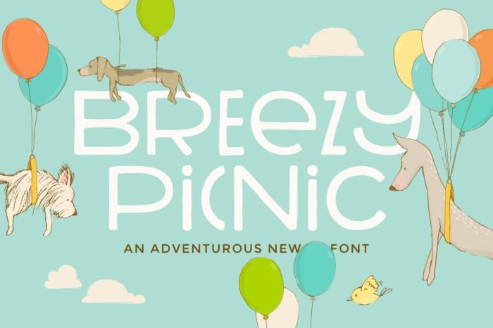 Breezy Picnic Font!