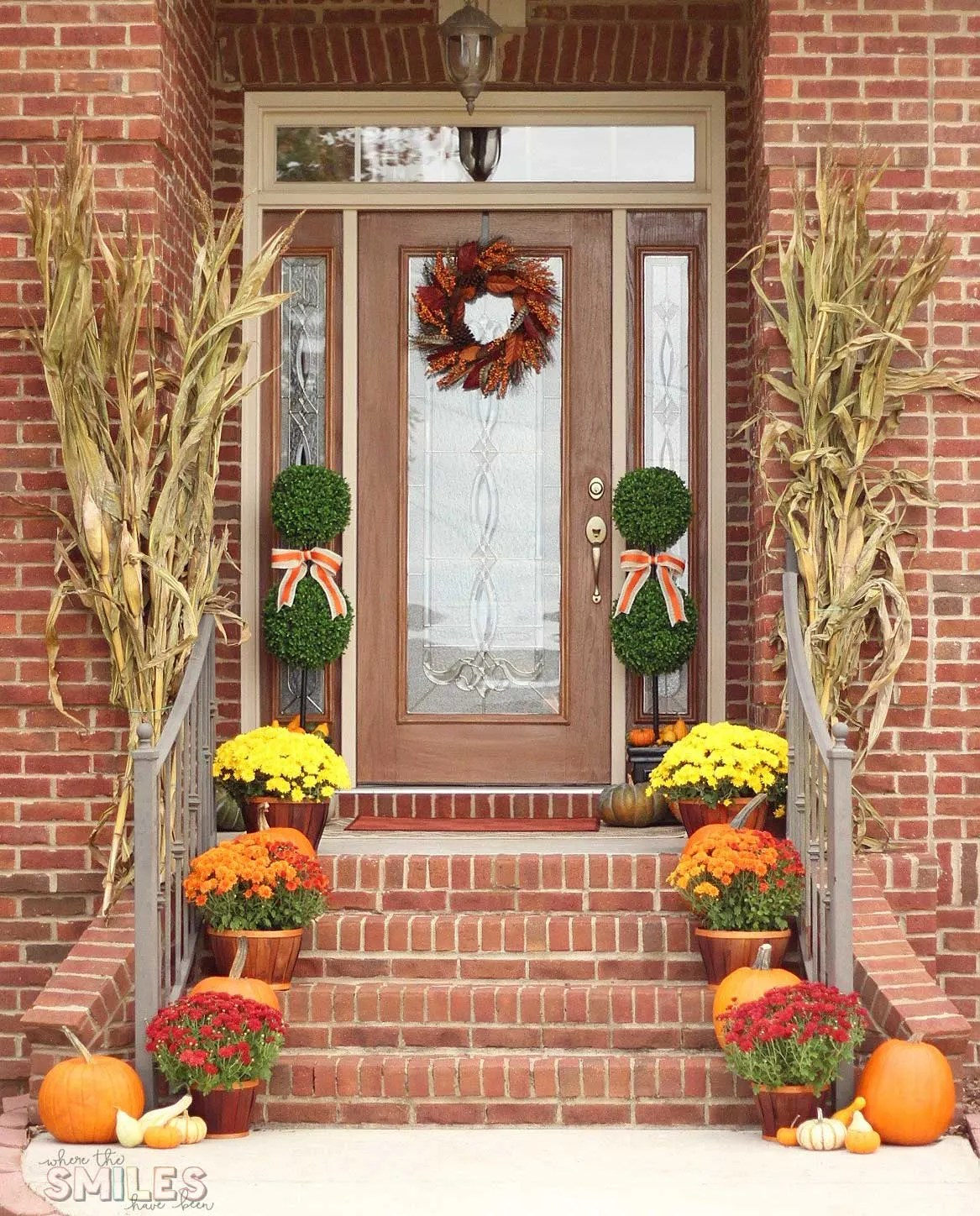 Fall Front Porch: Fall Front Porch Decor: Our Happy Harvest At Home