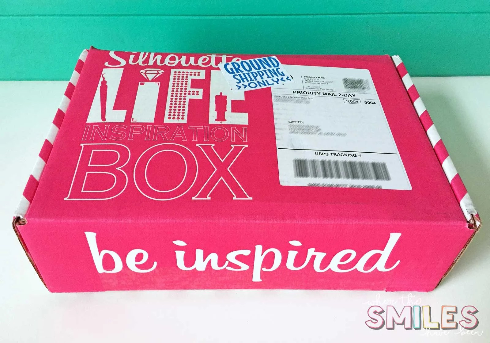 Silhouette Life Inspiration Box Review + GIVEAWAY! | Where The Smiles Have Been #Silhouette #Cricut