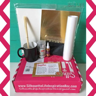 Silhouette Life Inspiration Box Review + GIVEAWAY!