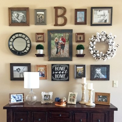 Modern Farmhouse Gallery Wall Reveal