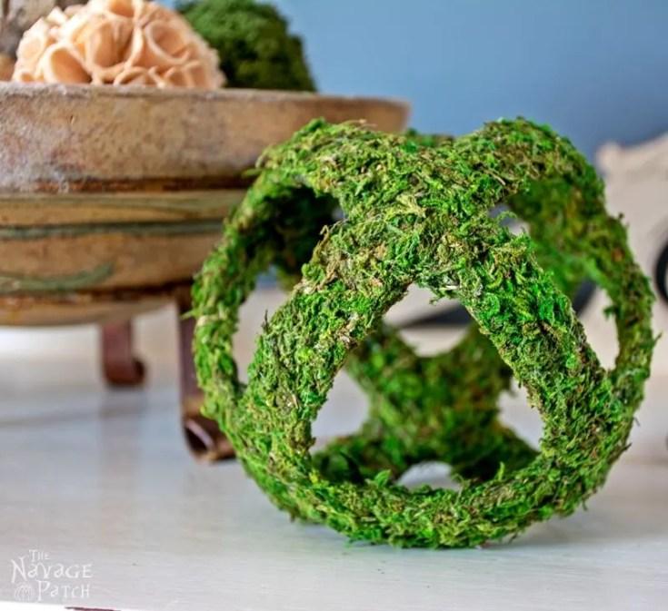 Decorative Moss Sphere