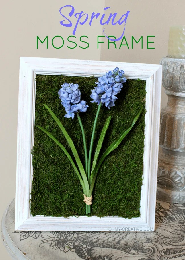 Spring Moss Floral Art