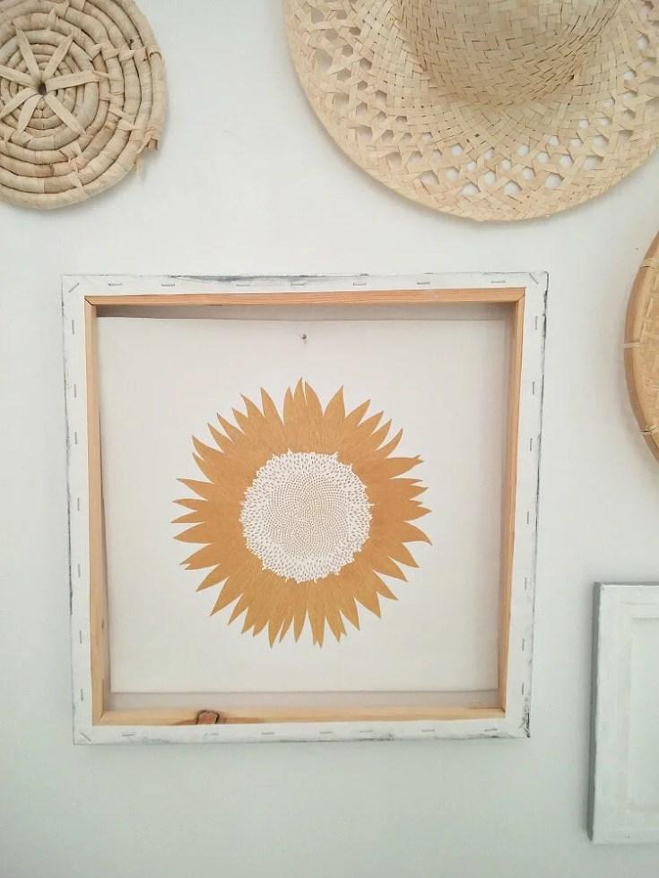Flipped Reverse Canvas Framed Wall Art