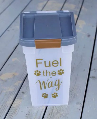 Customized Pet Food Container