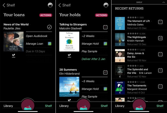 Libby Library Reading App Screenshots #reading #books #library