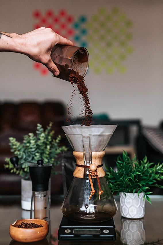 come-preparare-chemex-caffè-macinato