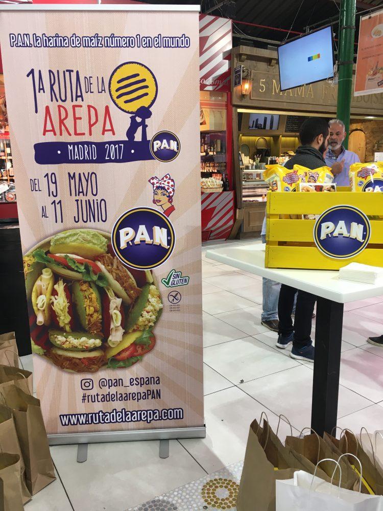 Ruta de La Arepa. PAN España. Información