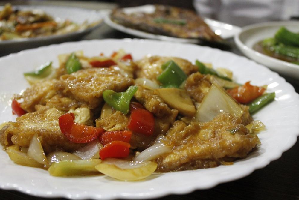 Restaurante autentico chino Madrid. Tofu. Chuan Shui Yao USERA