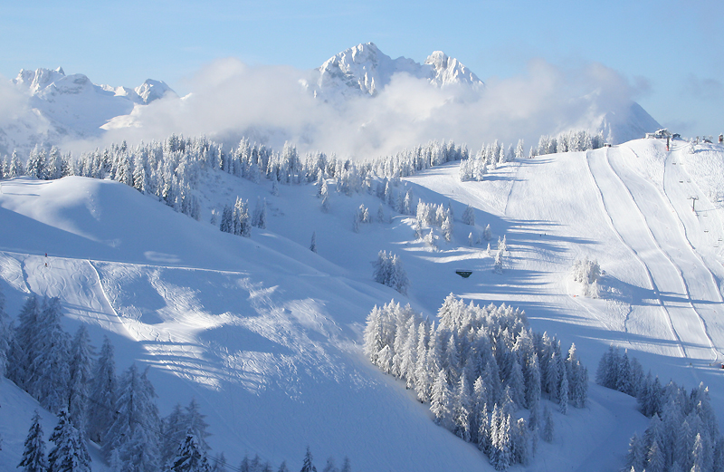 Where to Ski And Snowboard  Wagrain