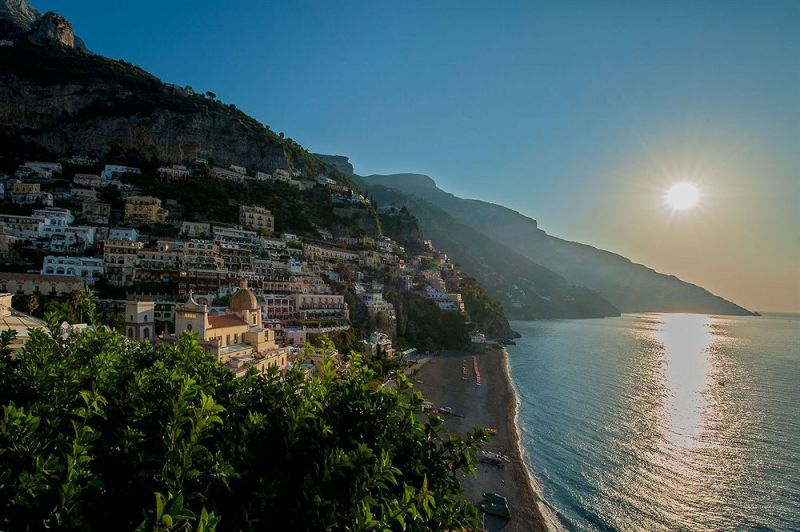 positano-sunset