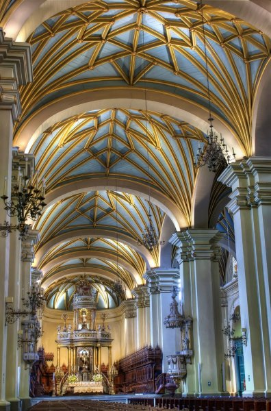 Basilica Cathedral Lima William Woodward