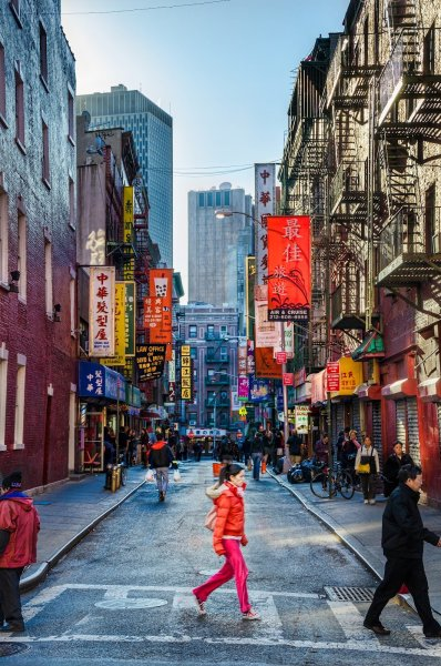 Chinatown NYC William Woodward
