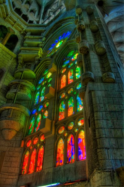La Sagrada Famialia Barcelona William Woodward