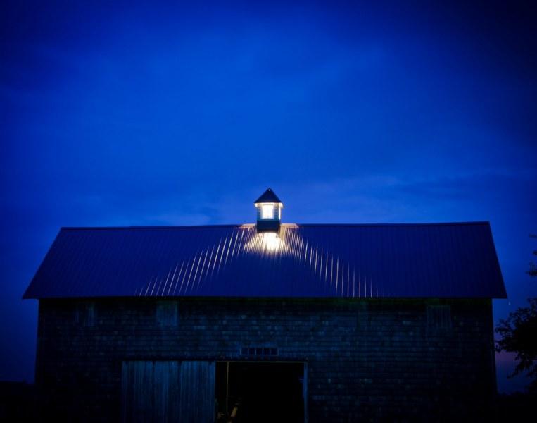 Blue Cupola Illinois William Woodward
