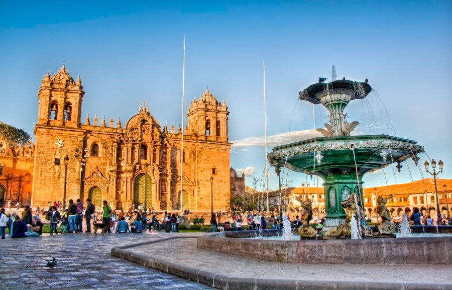 Plaza de Armas Cusco William Woodward