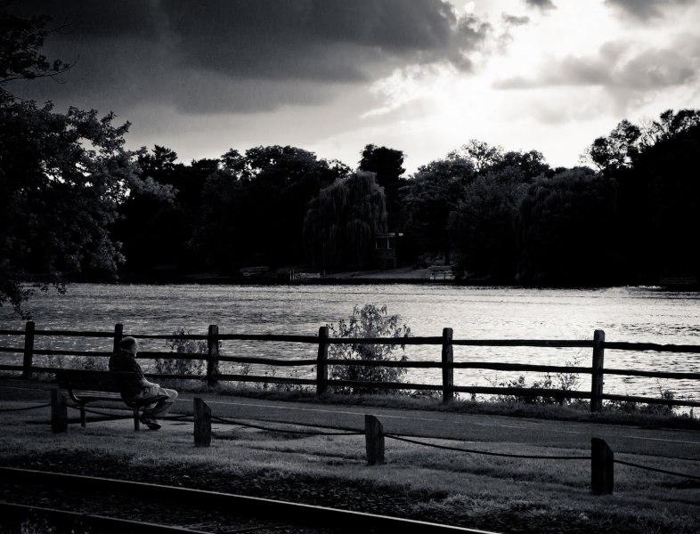 Quiet Time River Illinois William Woodward
