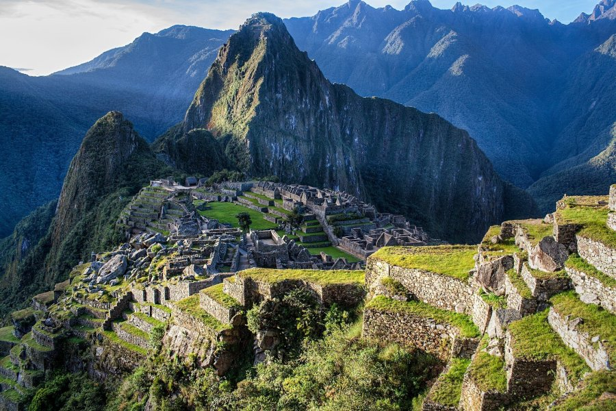 Sun Beams Machu Picchu William Woodward