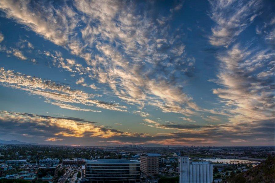 Clouds Arizona William Woodward