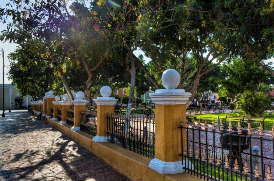 Yellow Wall Yucatan William Woodward