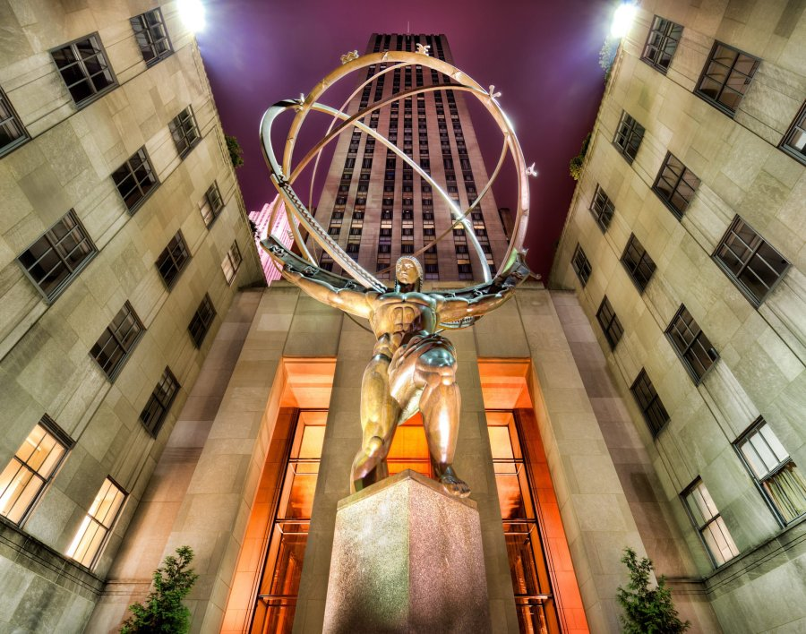 Atlas New York William Woodward