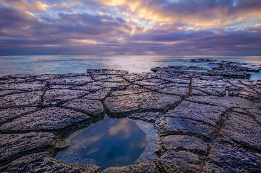 Hole in Earth La Jolla William Woodward