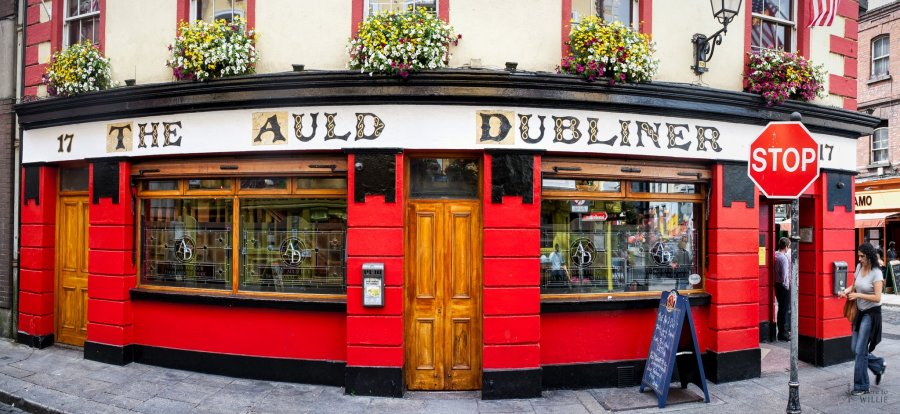 Auld Dubliner Dublin William Woodward