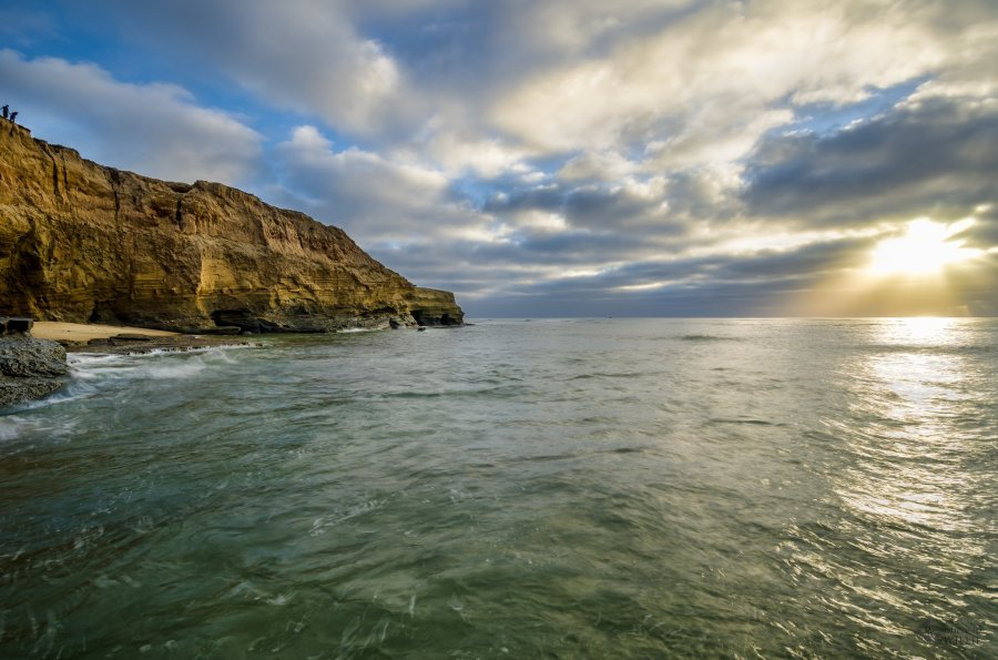 Sunset Cliffs San Diego William Woodward