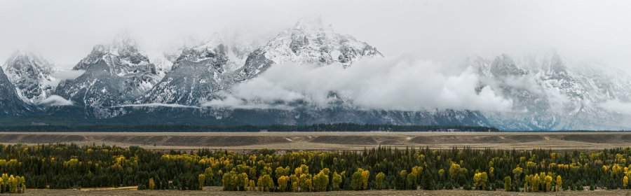 grand teton panoramic william woodward