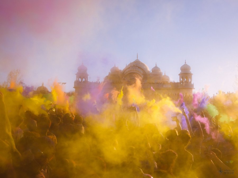 holi festival utah krishna temple festival of colors william woodward
