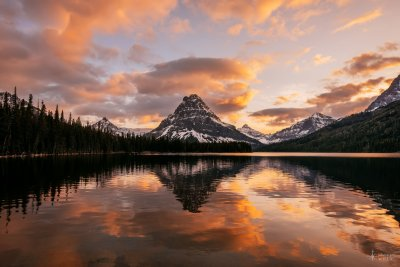 At Last - Two Medicine Lake - Glacier National Park, Montana