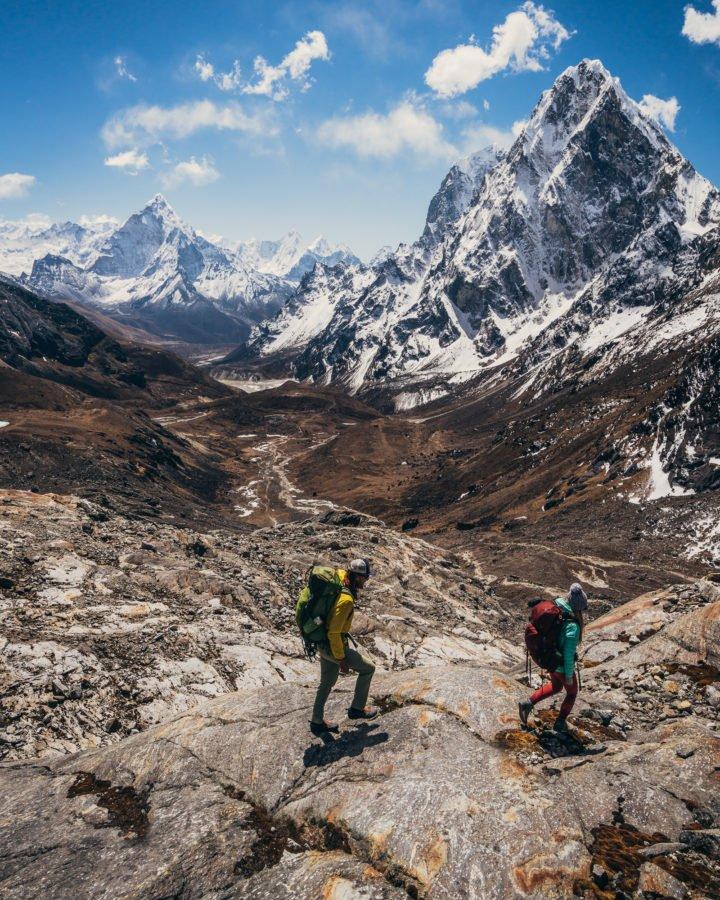 Trekking Nepal Himalaya Everest Base Camp William Woodward Chola Pass Everest