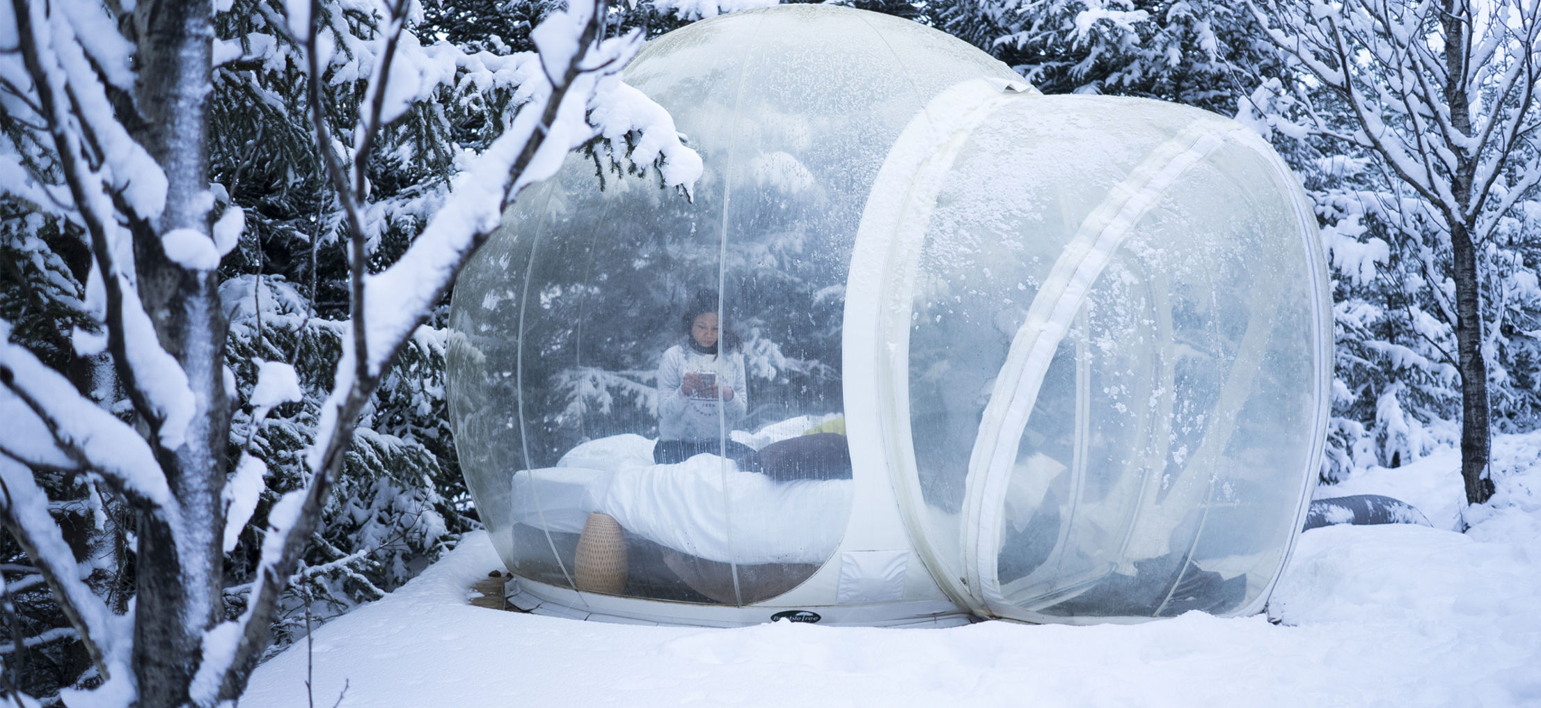 Fall Asleep In Iceland' 'buubble' Hotel Wheretraveler