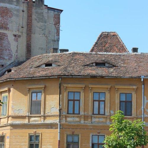 Sibiu, Romania. The City where the houses don't sleep
