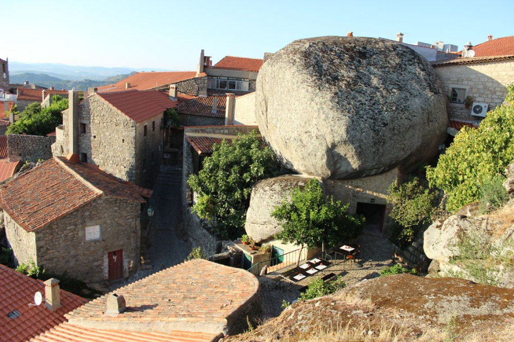 Heading to Monsanto, historic village of Portugal