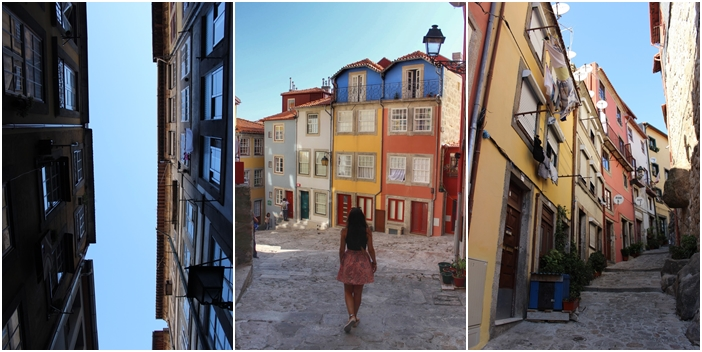 Diana on Oporto's streets